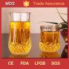Alta calidad del diamante grabado whisky de cristal de la taza