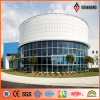 RoHS a délivré un certificat le panneau de revêtement en aluminium de dépliement blanc de Feve (AF-406)