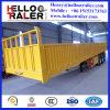 Remorque de mur latéral de 3 essieux semi avec le blocage du conteneur 12PCS