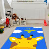 キリンパターン寝室のマット