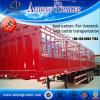De zij Aanhangwagen van het Vee van de Omheining voor het Vervoer van dieren van de Lading stortgoed (LAT9103)
