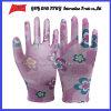 PU покрыл трудные защитные перчатки работы Guantes (PU 1007)