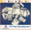 Волокно Fibra волокна полипропилена Microfiber PP моноволокна