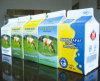 500ml 우유를 위한 3개의 층 박공 상단 판지