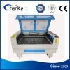 Qualitäts-lederne Plastikausschnitt-Stich CNC Laser-Maschine