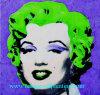 Olieverfschilderij, het Olieverfschilderij van Monroe, het Olieverfschilderij van het Portret