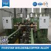 Machine longitudinale de soudure continue pour la chaîne de production de radiateur de panneau de transformateur