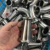 Het hygiënische Roestvrij staal klemde Concentrisch Reductiemiddel vast