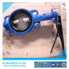 Клапан-бабочка центра вафли 4 ушей с ручкой Bct-Wbfv-18
