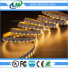 Vista lateral Warm White Flexível SMD335 9.6W / M Strip LED