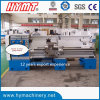 Tipo metal Gap Bed Lathe Machine de Horizontal da elevada precisão CS6266Cx1500