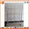 Justierbarer Draht-stehendes Regal mit Fußrollen (Zhw19)