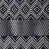 綿のかぎ針編みのJacqurdの方法レースファブリック