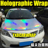 Rainbow olografico Car Wrap Film con Air Free Bubbles