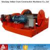 Treuil électrique à basse vitesse de série de la JM, guindeau