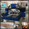 Novo tipo máquina de gravura giratória do Woodworking do torno do CNC