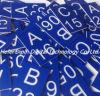 Lamiera sottile blu/bianca dell'ABS