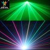 2WフルカラーRGBのアニメーションのレーザー光線