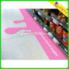 Exhibición adhesiva de la etiqueta engomada del piso de la etiqueta engomada de encargo del vinilo de la promoción