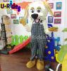 Traje de mascote de desenhos animados para carnaval