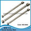 Manguito trenzado del conector flexible del golpecito de la compresión (H02-005A)