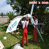 Clean renovável Energy Horizontal Axis Wind Generator 600W Wind Turbine