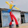 屋外広告の膨脹可能な空のダンサーのギターの空気ダンサー