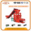 Máquina de fabricación de ladrillo enorme hueco concreta popular del bloque