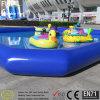 Plastikspielplatz scherzt aufblasbares Pool
