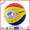 異なったゴム製バスケットボールの球の画像
