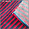Tela multi del terciopelo de la raya del color para el vestir de los niños