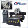 신식! 6kw Air Cooling Spindle, 1300kg Weight, NC Studio Control System Flycut CNC Router