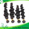 Extensão não processada do cabelo humano do Virgin do cabelo da venda por atacado 100%Human do preço de fábrica