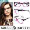 Das cores dobro italianas de Eyewear do acetato do modelo novo frame ótico de Eyewear com Ce