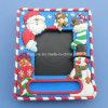 サンタのクリスマスの写真映像の写真フレーム