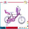 bicicleta da menina da polegada 12  14  16  20  com boa qualidade da cesta dianteira ou traseira