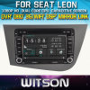 Witson Windows für Seat Leon Head Unit Car DVD