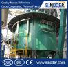 Equipo de la extracción solvente del petróleo de girasol, máquina del extractor de Rotocel