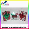 Boîte de empaquetage découpée avec des matrices par cadeau coloré promotionnel de Noël