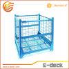Contenitore rigido resistente galvanizzato pieghevole della rete metallica