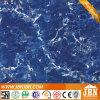 Blauer Farben-glatter Marmorstein-Polierfliese (JM63005C)