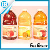 Große Kapazitäts-Saft-Flaschen-Kategorien-Kennsatz Selbst Entwurf