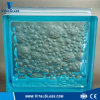 장식적인 Blue Water Bubble Glass Brick Block