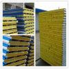 Panneau sandwich de laines de l'acier ENV /Rock Rool /Glass de couleur de matériaux de construction en métal pour le chantier de construction