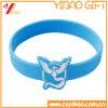 Kundenspezifischer Firmenzeichen Deboss Abdruck-SilikonWristband (XY-ST-010)