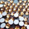 Кристаллы Fix кристаллов задней части Preciosa плоские Non горячие для коробки подарка (topaz FB-ss20)