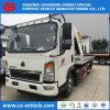 Vrachtwagen van het Slepen van de Vrachtwagen van de Terugwinning van de Weg HOWO de Kleine 3tons 4t Flatbed