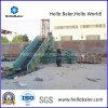 Semi-automático hidráulico de cartón Baler con CE Certificado Hsa4-7