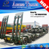6 150tons 3 Lines Axis Low Loader Semi Trailer
