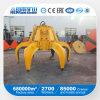 Gancho agarrador de acero hidráulico del desecho de 5 metros cúbicos